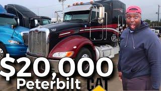 "CRAZY CHEAP SEMI TRUCKS ""THE $20,000 DOLLAR PETERBILT"" WHAT SHOULD I DO? BUY OR NOT"