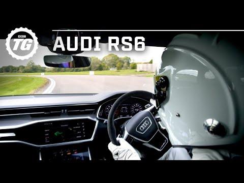 StigCam: NEW Audi RS6 Avant 2020 Stig Lap   Top Gear