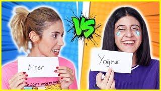Slime Challenge Kuzenlerimle Birbirimizi Ne Kadar İyi Tanıyoruz Eğlenceli Çocuk Videosu Dila Kent