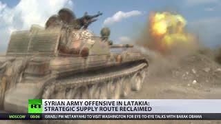 Frontline report: Inside mountain warfare in Syria