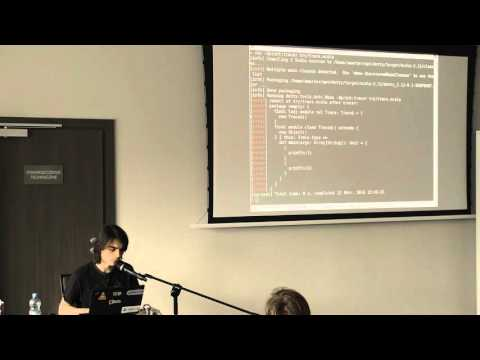 Hacking on Dotty: a live demo