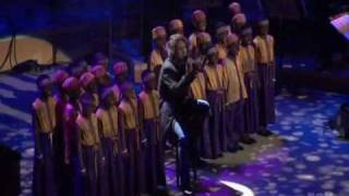 AI Josh Groban children choir frm Africa - You Raise Me Up