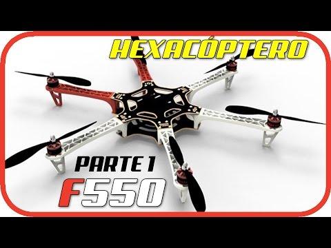 Construir Hexacóptero F550 - Cómo soldar todos los componentes y montar el chasis - Parte 1