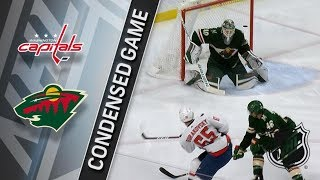 Washington Capitals vs Minnesota Wild – Feb. 15, 2018 | Game Highlights | NHL 2017/18. Обзор