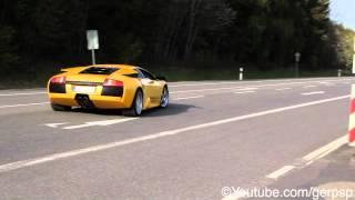 Lamborghini Murciélago acceleration - 1080p HD