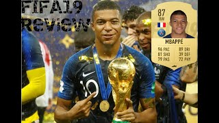 FIFA 19 Kylian Mbappé Review 87 (Best Player On Fifa 19!?!?)