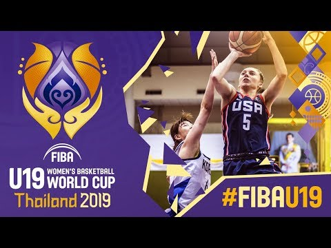 Korea v USA - Full Game - FIBA U19 Women's Basketball World Cup 2019