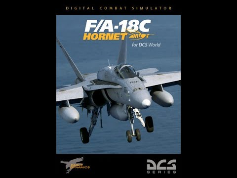 DCS World:F/A-18C Open Beta_AGM-154A (Quick test)/PT-BR_VÍDEO 1062