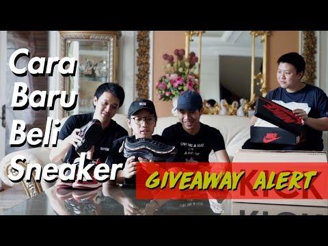 WEBSITE JUAL BELI SNEAKER MURAH (website local indonesia) KICK AVENUE