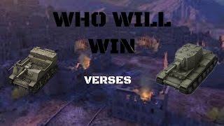 T82 Verses 2 KV-2 - World Of Tank Blitz