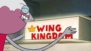 HOW TO MAKE Benson's Microwave Wings from REGULAR SHOW!