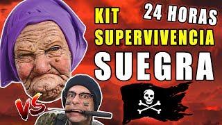 KIT DE SUPERVIVENCIA A SUEGRA 24 HORAS 😨 HUMOR Basado En Hechos Reales