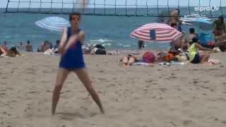 20 anys de vòlei platja al Prat amb els Víkings