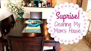 Speed Clean With Me | Surprising My Mom | Power Hour Cleaning