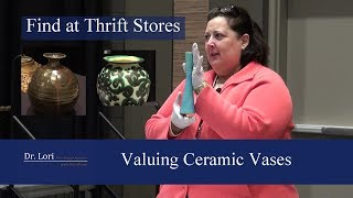 Valuing & Finding Pottery Vases - Van Briggle, Shino, More - Dr. Lori