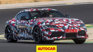 Toyota Supra 2019 review | Cayman rival prototype driven | Autocar