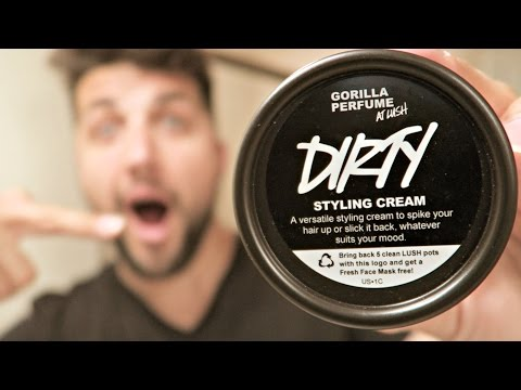 LUSH Cosmetics Review | Dirty Hair Styling Cream