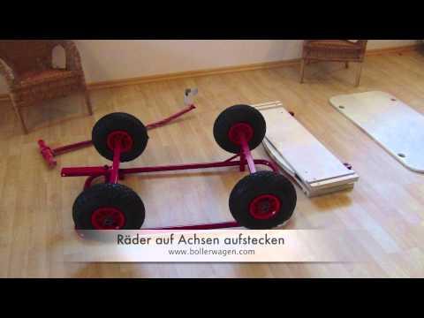 Bollerwagen Bubi Montage & Zusammenbau Anleitung