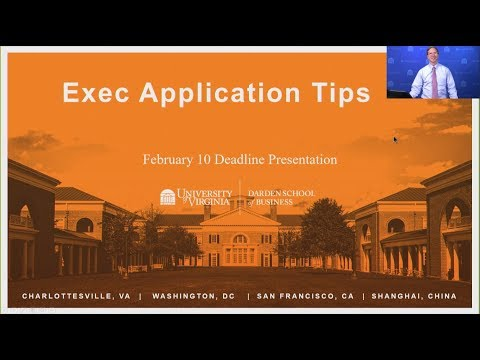 Exec Application Tips - February 2018