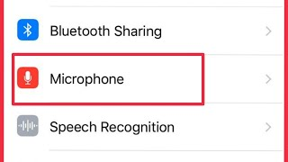 iPhone 6 | How To Access Microphone Permission Application | Access And Permission Problem Solve