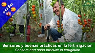 Greenhouse production: Sensors and good practice in fertigation