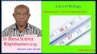 Homeostasis A-levelvrevision questions