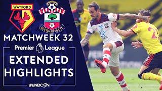 Watford v. Southampton | PREMIER LEAGUE HIGHLIGHTS | 6/28/2020 | NBC Sports