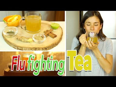 Video Cold, Flu, Cough and Sore Throat Remedy Tea