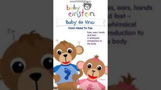 Gambar cover Baby Einstein Baby Da Vinci (2004) Head Shoulders Knees & Toes {Part 2}