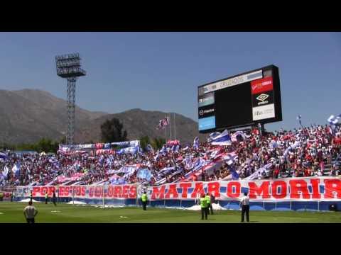 """""""BANDERAZO """"Tú eres mi amigo del alma"""" UC vs CC APERTURA 2016-17"""" Barra: Los Cruzados • Club: Universidad Católica"""