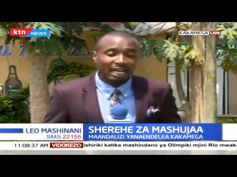 Maandalizi ya Siku ya Mashujaa yanaendelea katika Kaunti ya Kakamega