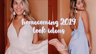 Homecoming 2019 Look Ideas