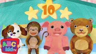 Ten in the Bed (2D) | Cocomelon (ABCkidTV) Nursery Rhymes & Kids Songs