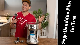 Sage Bambino Plus im Test | Was kann die kleine Espressomaschine?