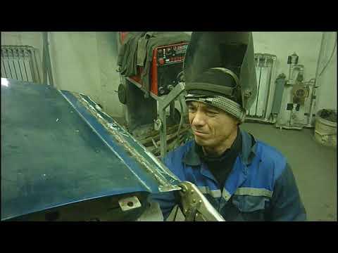 Ваз 2110 Кузовной ремонт дверей #6