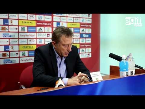 Konferencja po meczu Miedź Legnica - Stomil Olsztyn 2:2