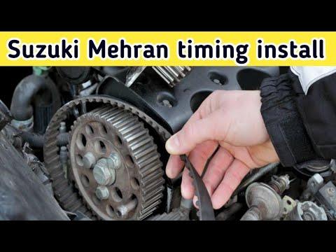 Фото к видео: How to Timing Install Suzuki Mehran F8b Engine 800 cc