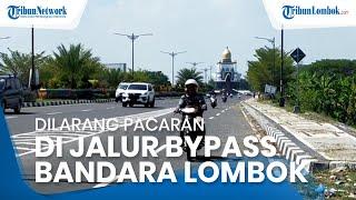 Polisi Pasang Spanduk di Bypass II Bandara Lombok: Dilarang Pacaran, Banyak Setan, Antisipasi Begal