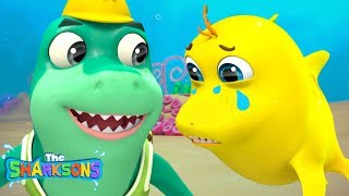 Sharks Go SNAP SNAP Song | Nursery Rhymes & Kids Songs! | Cartoons For Kids | The Sharksons