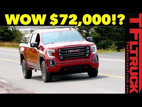 2019 GMC Sierra Configurator - We Config Least/Most Expensive AT4!