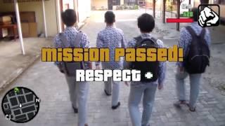 CJ Beralih jadi anak SMA - GTA San Andreas Indonesia Real Life