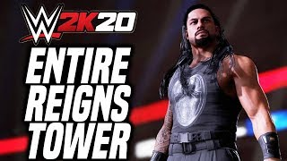 ENTIRE WWE 2K20 Roman's Reign 2K Tower (ALL 16 Matches)