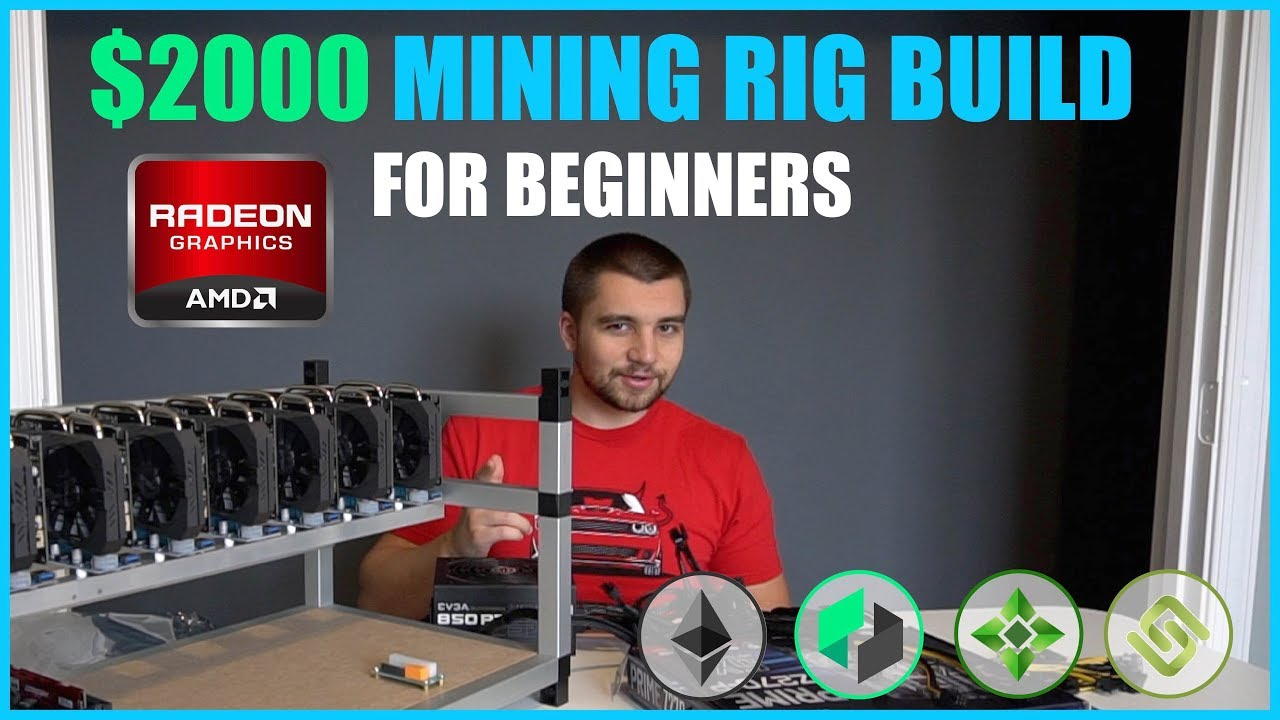 How To Build Crypto Mining Rig W/ $2000 or LESS – Beginner Tutorial – ETH/ZEC/XMR #crypto #beginner