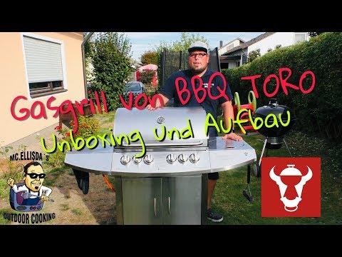 #094 - CBC-411 Gasgrill von BBQ Toro // Unboxing und Aufbauanleitung 🛠