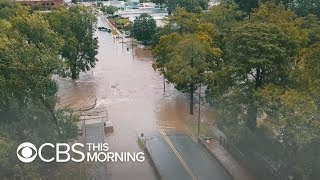 Relentless rain from Hurricane Florence causes flooding