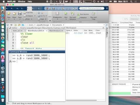 Advanced Programming Techniques using MATLAB