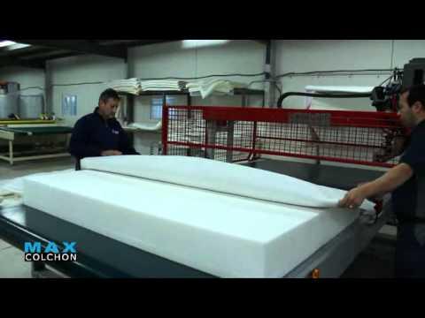 Maxcolchon. Proceso de fabricación de un colchón