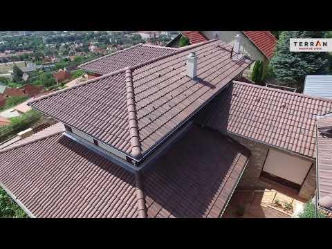 Výroba betonové střešní krytiny