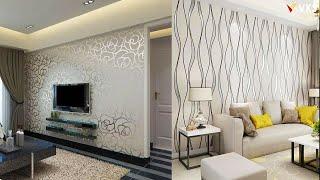 Wallpaper Interior Design Decor Ideas For Home | 3D Wallpaper For Living Room Wall Decor