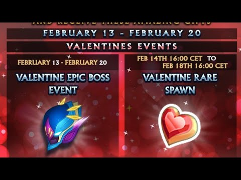 Knights And Dragons ~ Valentine's Day Event!!